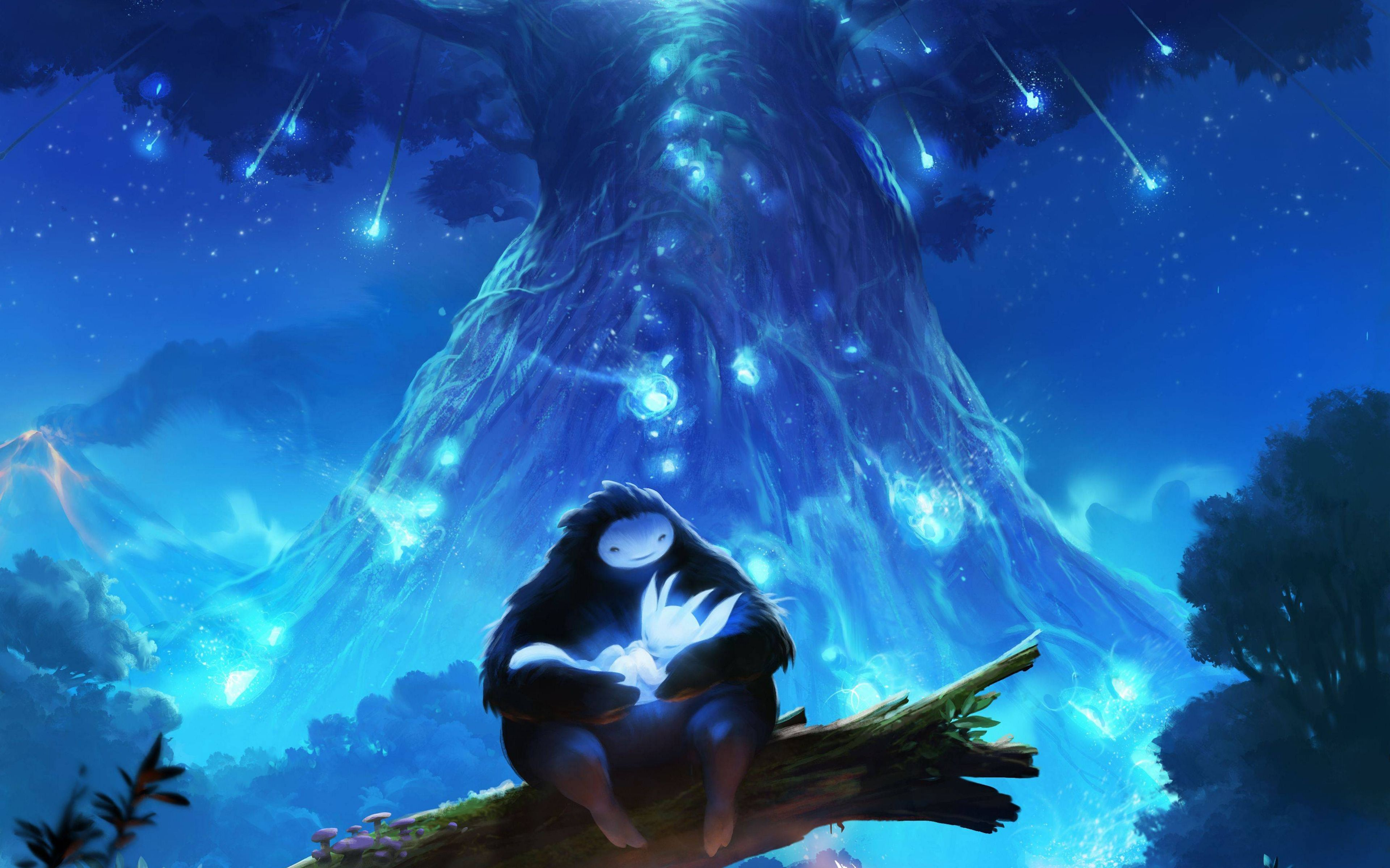 Ori And The Blind Forest 4k Forest Games Forest Blinds