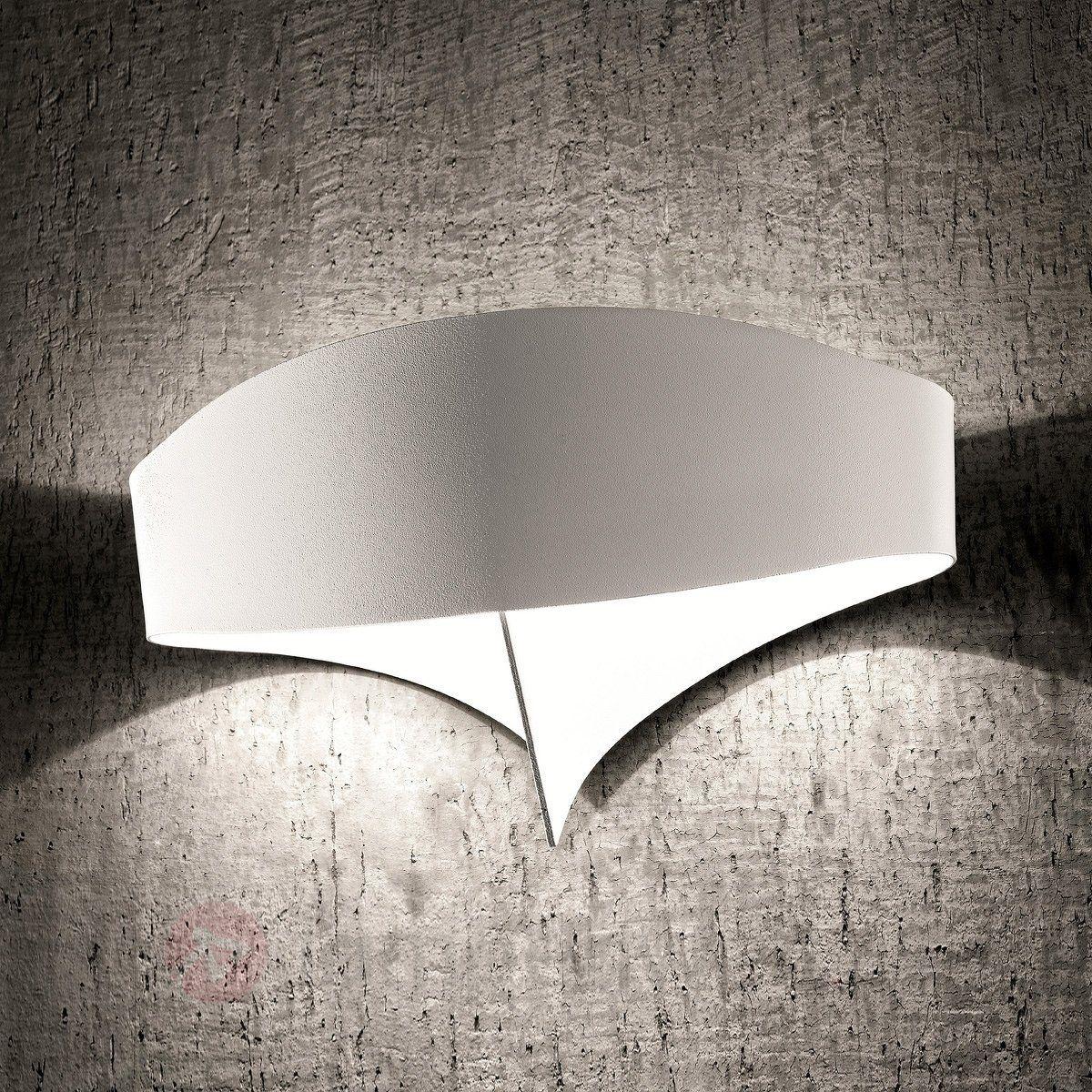 Faszinierend Designer Wandleuchten Ideen Von Weiße Designer-wandleuchte Scudo Sicher & Bequem Neutural