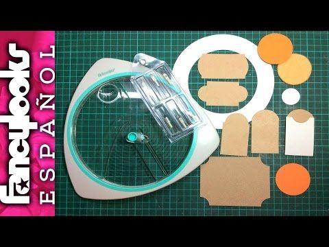 56) Cómo usar la cortadora de círculos Artemio e ideas con ella ...