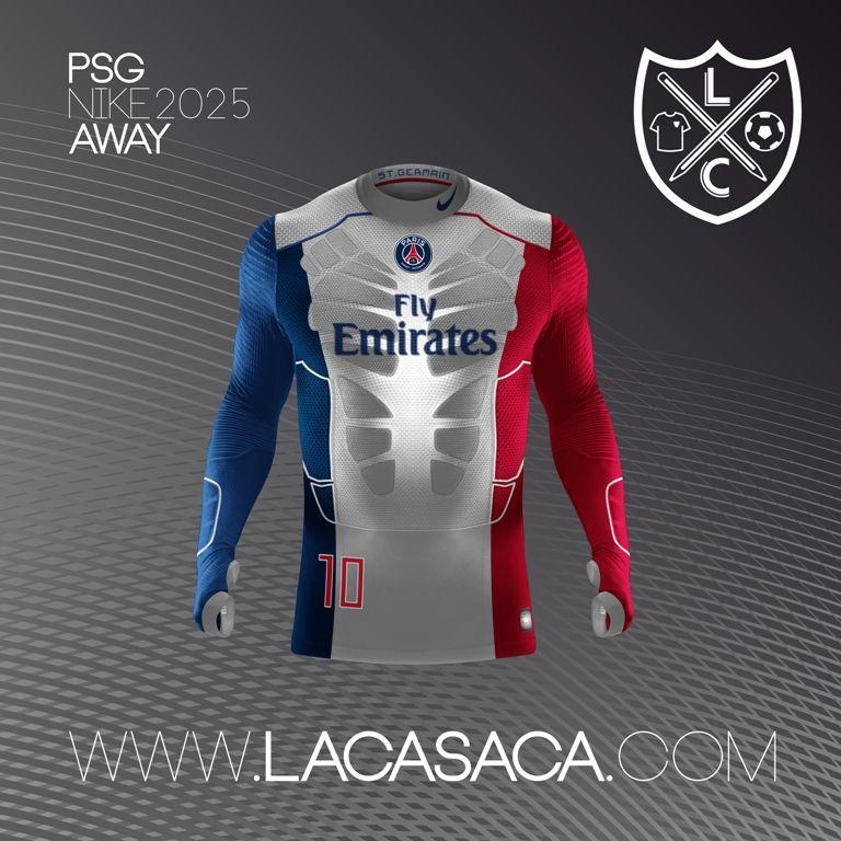 Nike 2025 Fantasy Kits - PSG Away Camisetas Deportivas 8b6f863b24adc