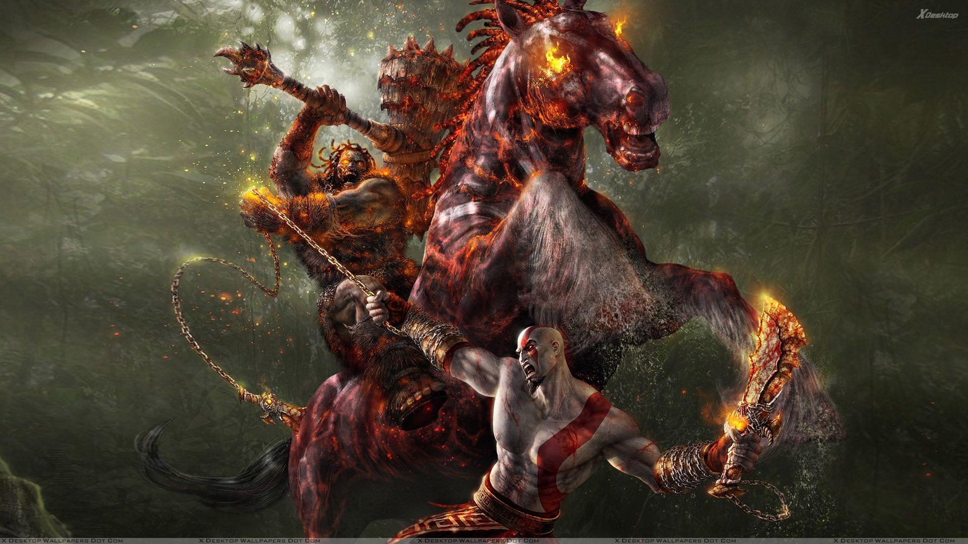 Pin By Wanda O Neal On The Four Horsemen Kratos God Of War