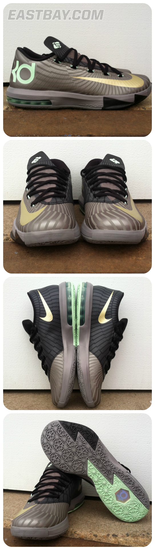 brand new 4426d d4595 basketball kd shoes foams nike