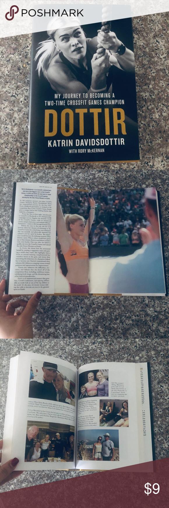 Katrin Davidsdottir CrossFit Games champion book in 2020
