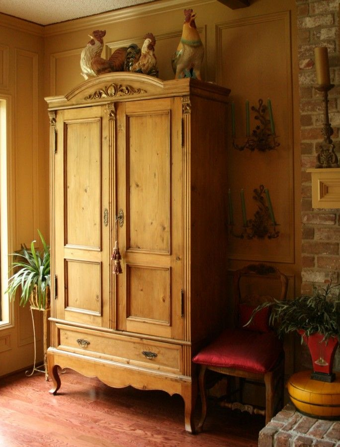 5 Ways I Hide TVu0027s   Cedar Hill Farmhouse. Armoire DecoratingHome ...