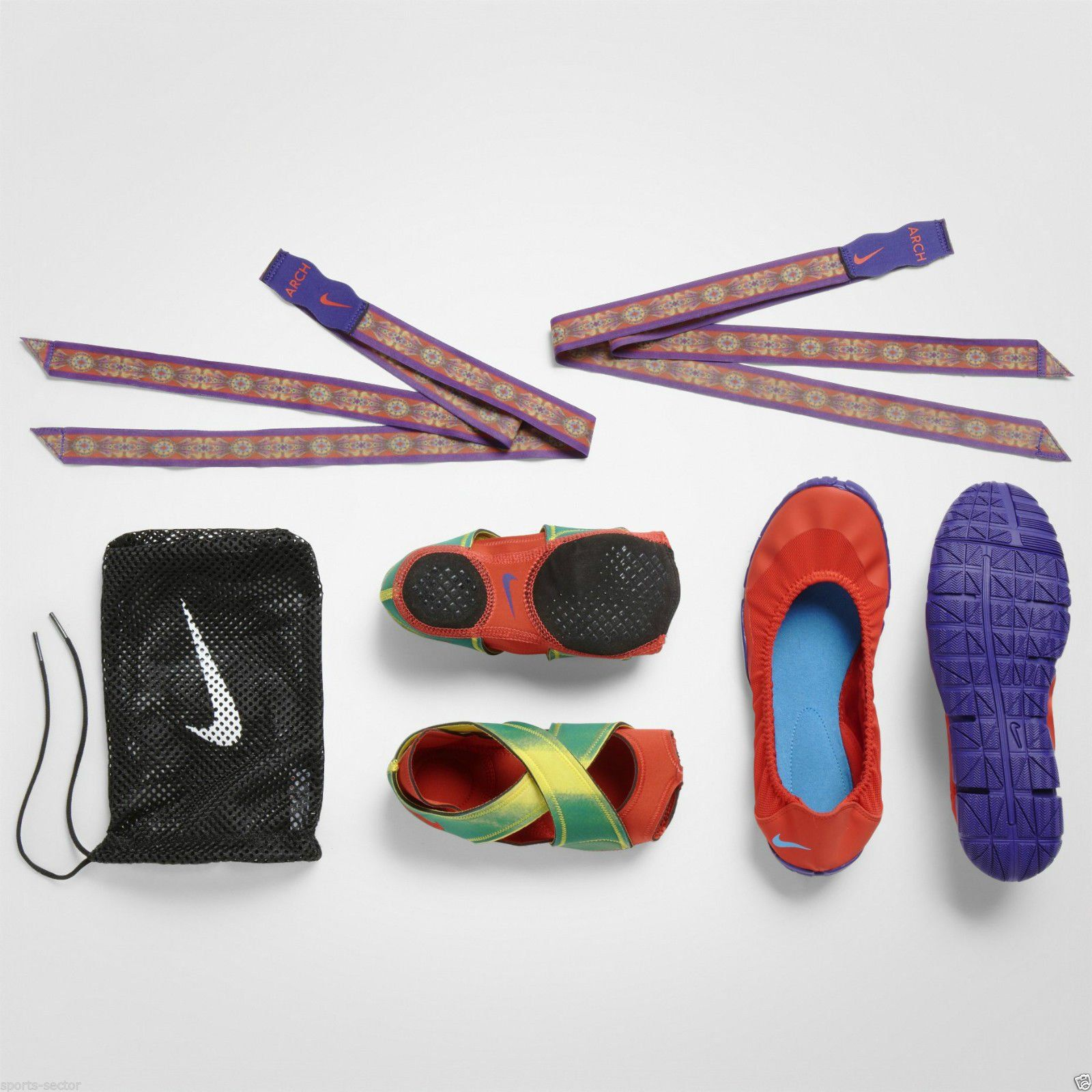 quality design 25e69 e1e49 Nike WMNS Studio Wrap Pack NRG Limited Edition Photo Blue  Chilling Red  Amazon.co.uk Shoes  Bags