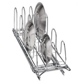 Roll-Out Lid & Tray Organizer