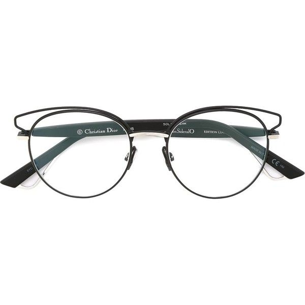 Dior Sideralo Glasses (€400) ❤ liked on Polyvore featuring ...