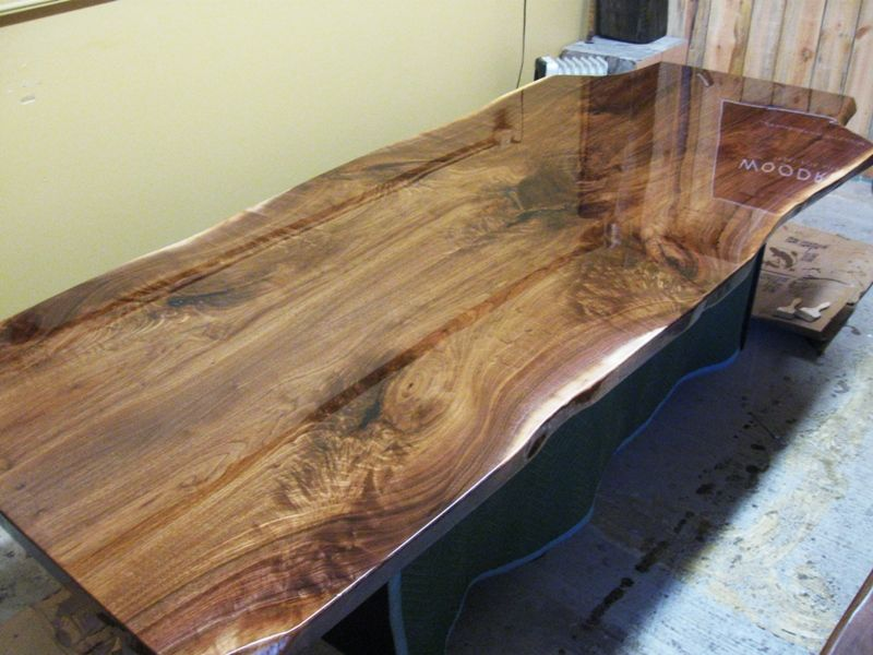 Walnut Live Edge Slab Table Tops Built To Your Needs Slab Table Live Edge Slab Table Live Edge Slab
