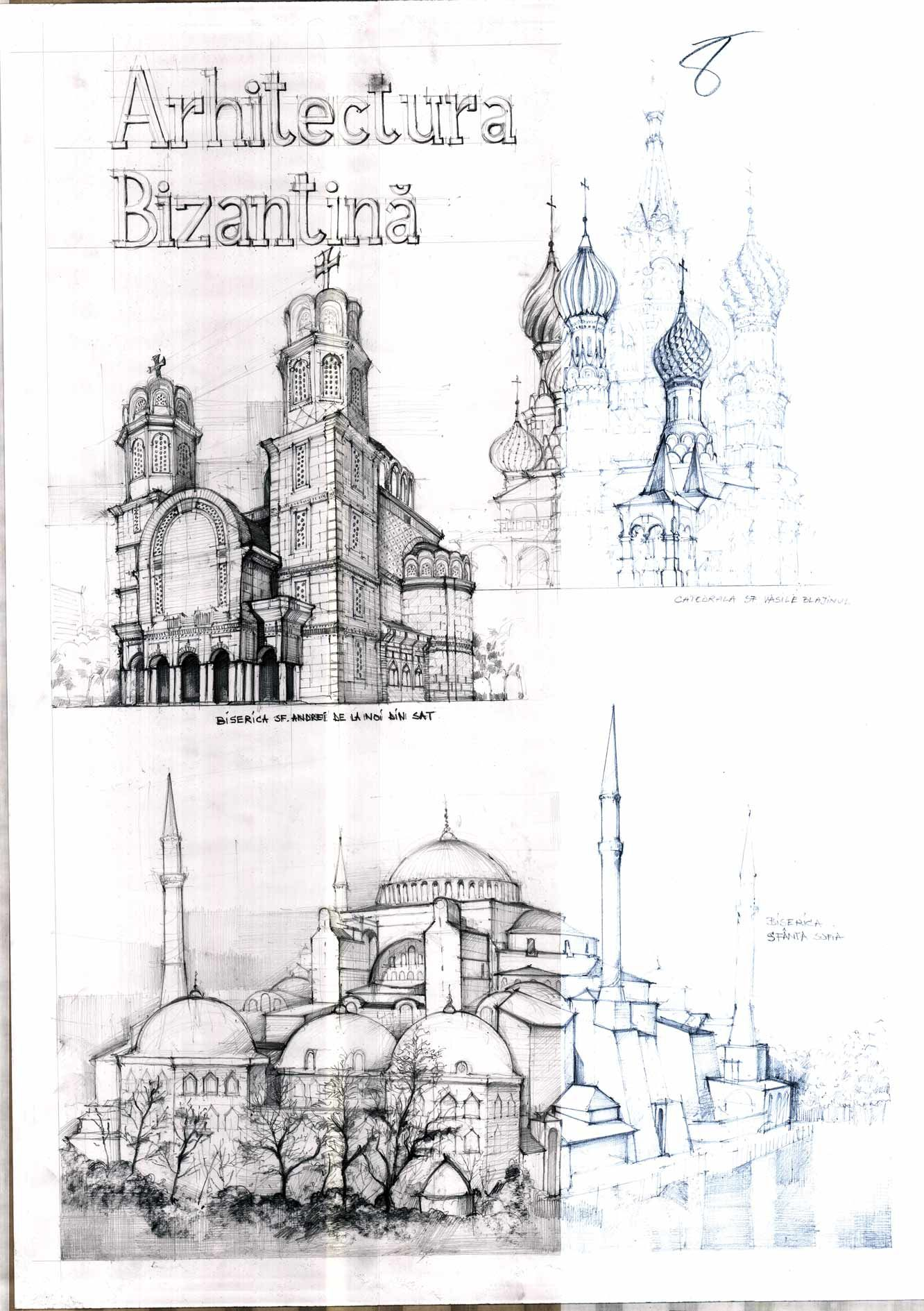 Architecture Drawing And Sketches Vladbucur