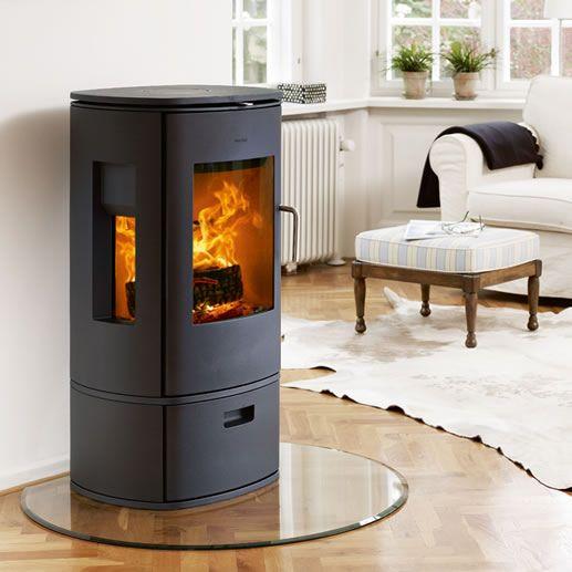 freestanding round woodburning stove corner hearth - Google Search - Freestanding Round Woodburning Stove Corner Hearth - Google Search