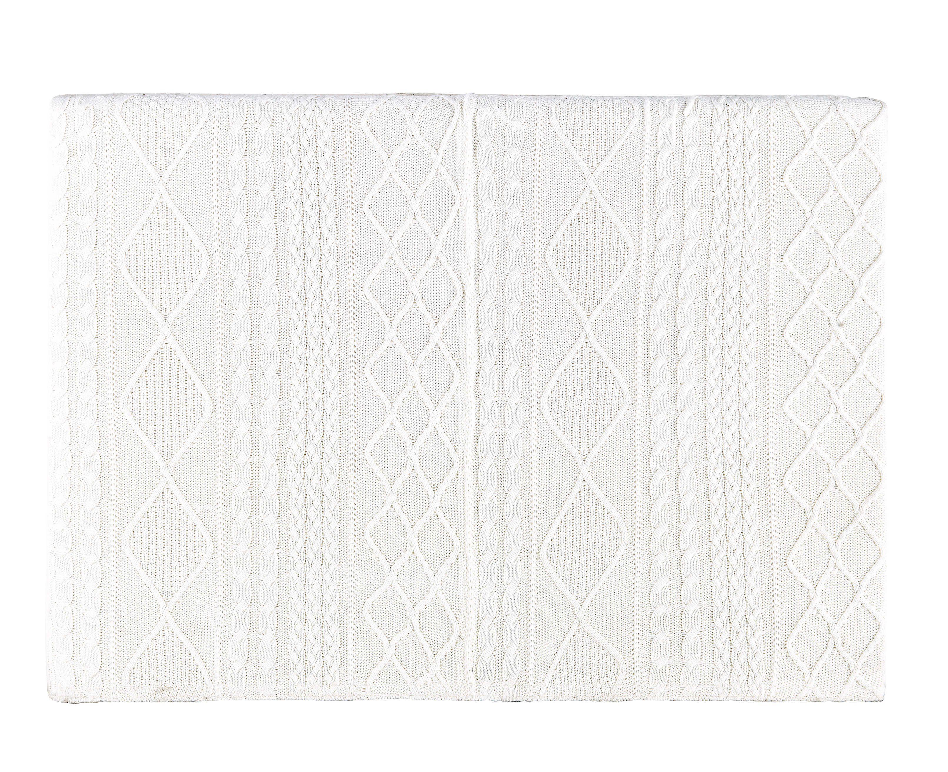 T te de lit 160 en tissu tricot grise Tricot Chambre