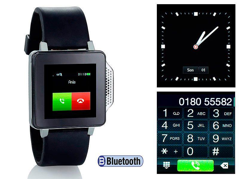 Handy Uhr Mit Sim Karte.Handy Uhr Pw 315 Touch Uhrenhandy Smartphones Mobiltelefone