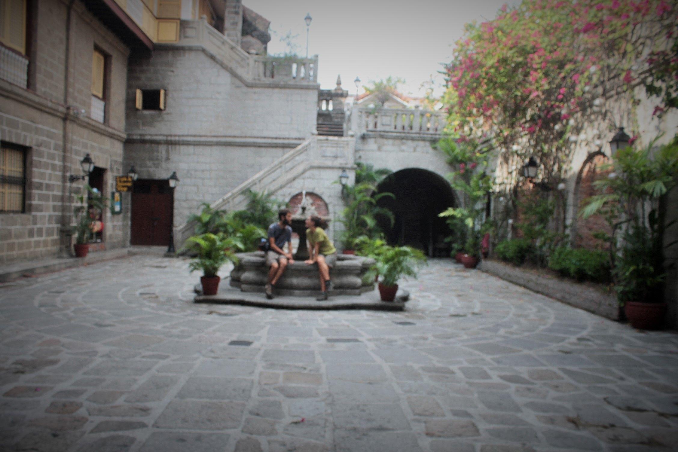 Patio de Casa Manila