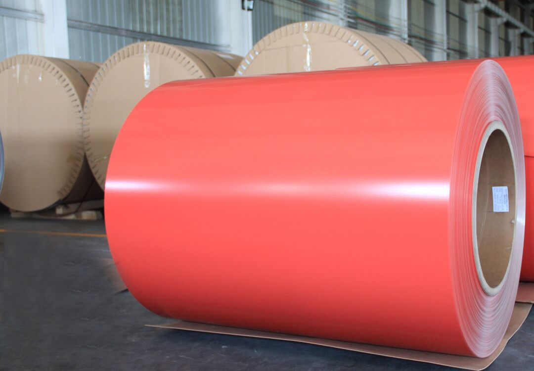 Color Coated Aluminum steel coil anti-corrosion,less weight