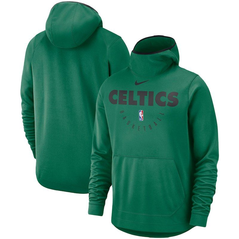 c69e92215bd8 Boston Celtics Nike Spotlight Performance Pullover Hoodie – Kelly Green