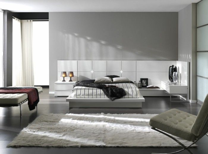 Color Ideas For Bedroom Walls colour design bedroom wall color light grey white fur carpet wall