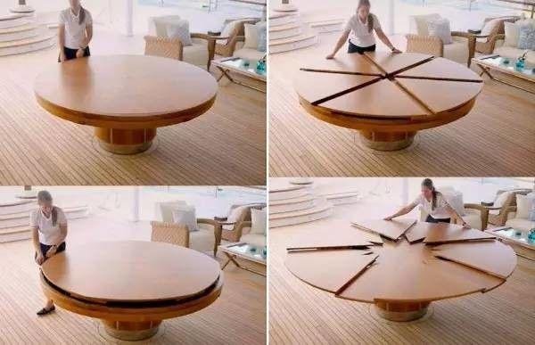 可大可小的神奇u201cFletcher Tablesu201d靈感來自於Robert Jupe於