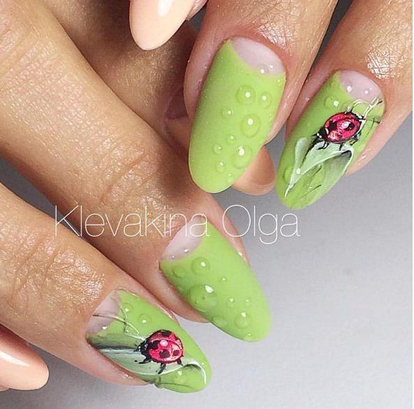 Фотографии Маникюр. Дизайн ногтей. Art Simple Nail | Nägel ...