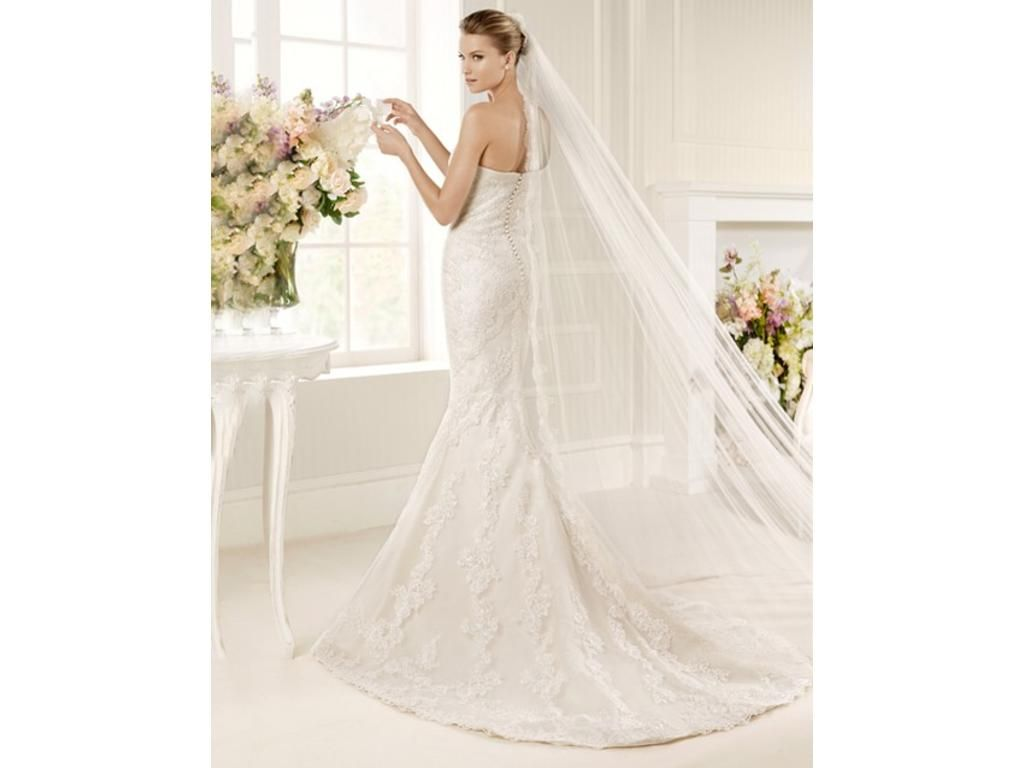 La sposa Mullet http://media.preownedweddingdresses.com/images ...