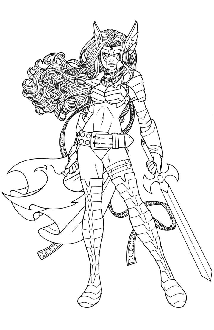 Angela By Jamiefayx Comic Artist Coloring Book Pages Artist