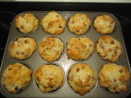Muffins jambon fromage faciles à réaliser - Marmite du monde