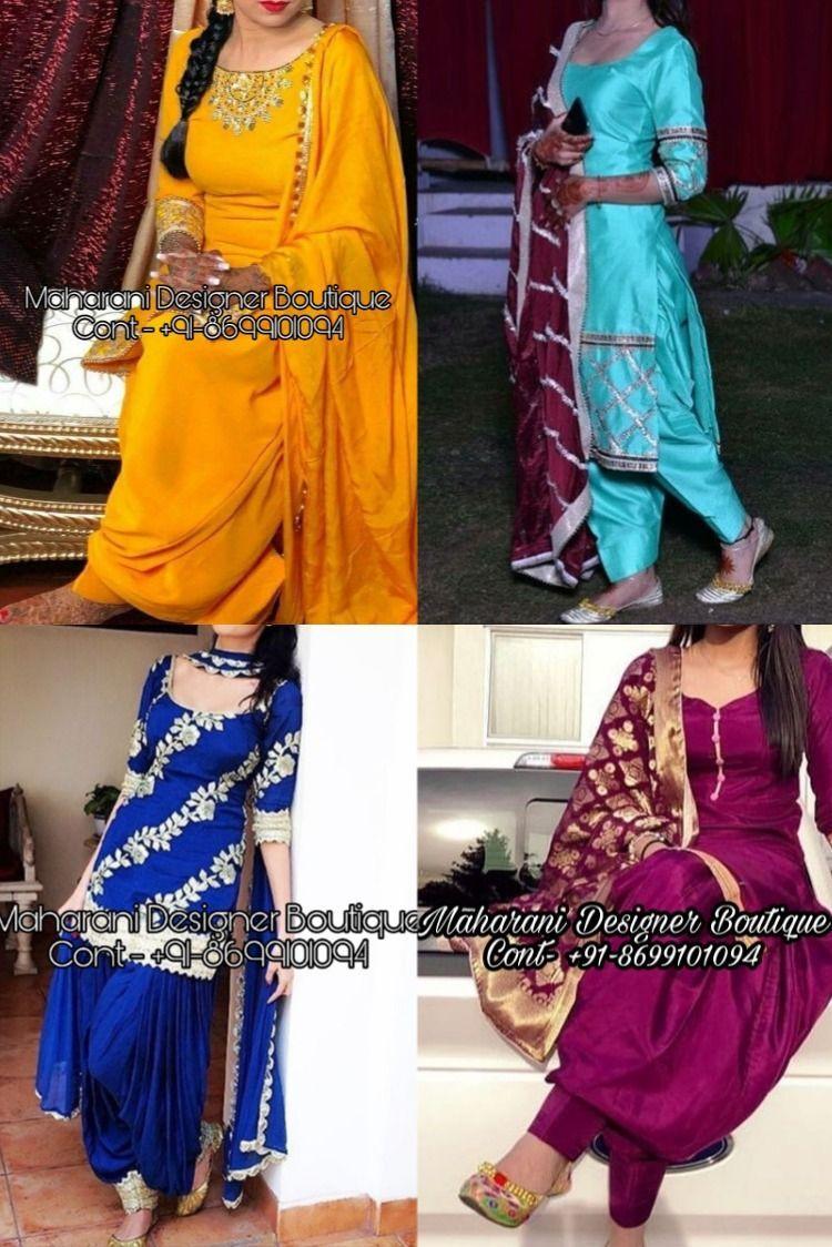 Punjabi Suits Boutique   Salwar Suit   Maharani Designer Boutique