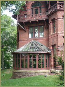 Mark Twain House Conservatory Exterior