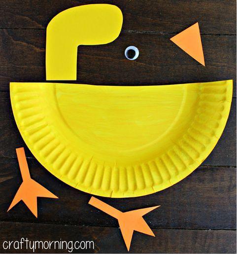 Paper Plate Duck Craft for Kids - Crafty Morning  sc 1 st  Pinterest & Paper Plate Duck Craft for Kids - Crafty Morning | child care crafts ...