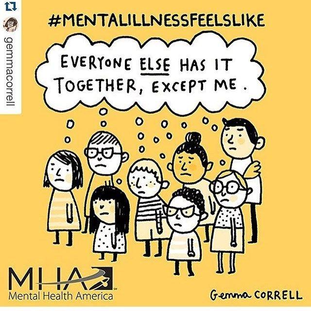 Mentalillnessfeelslike Mental Health Pinterest Mental Health