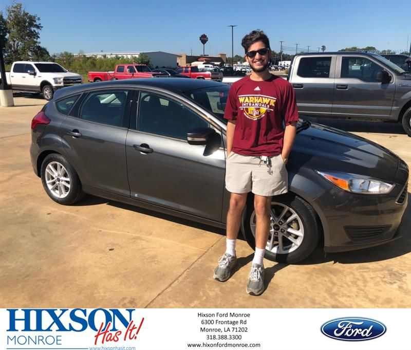 Hixson Ford Monroe >> Congratulations Joel On Your Ford Focus From Wesley