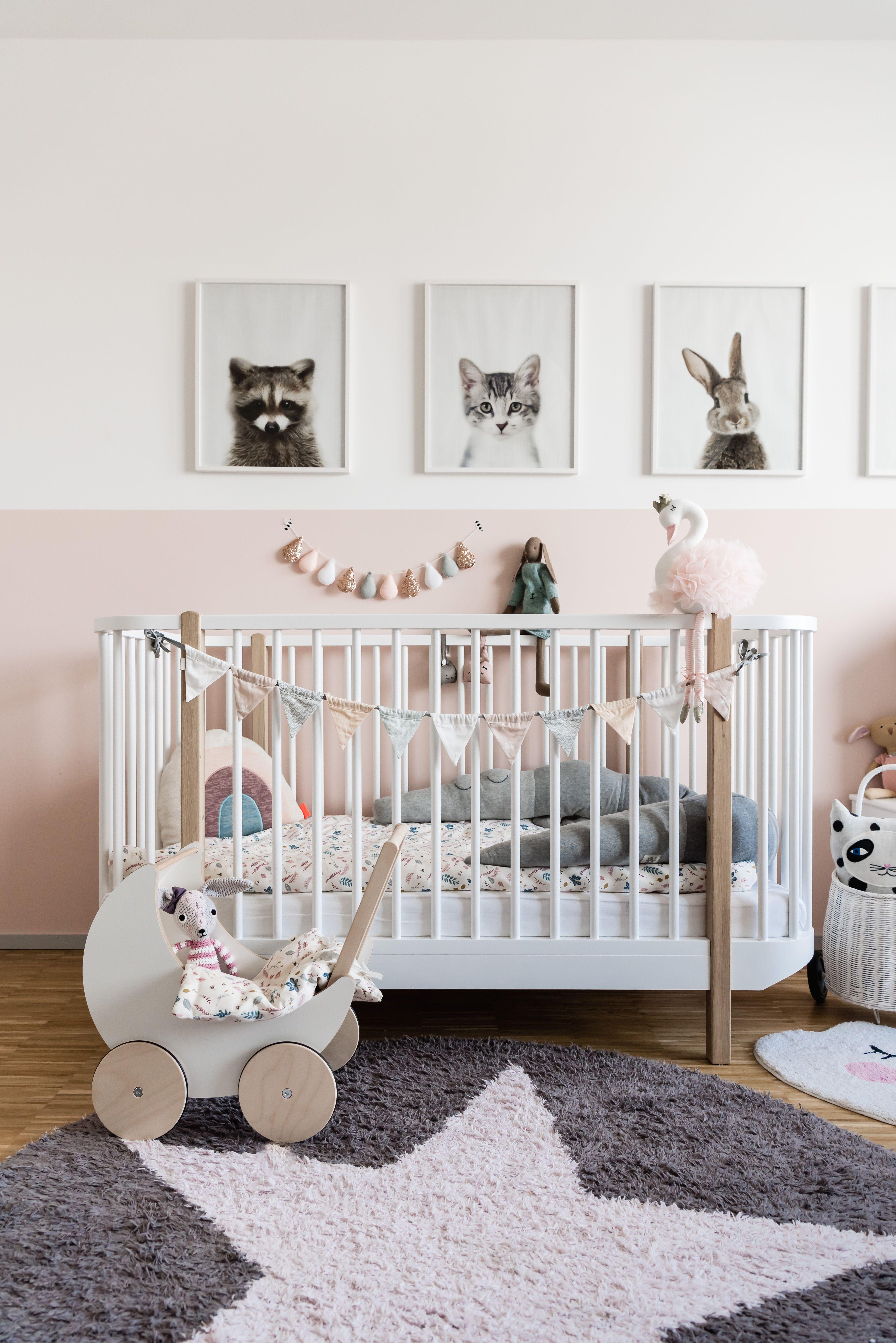 Babyzimmer Einrichten: Ein Traum Für Kleine Mädchen #kinderzimmer  #kinderzimmerdeko #kinderzimmerinspo #babyzimmer
