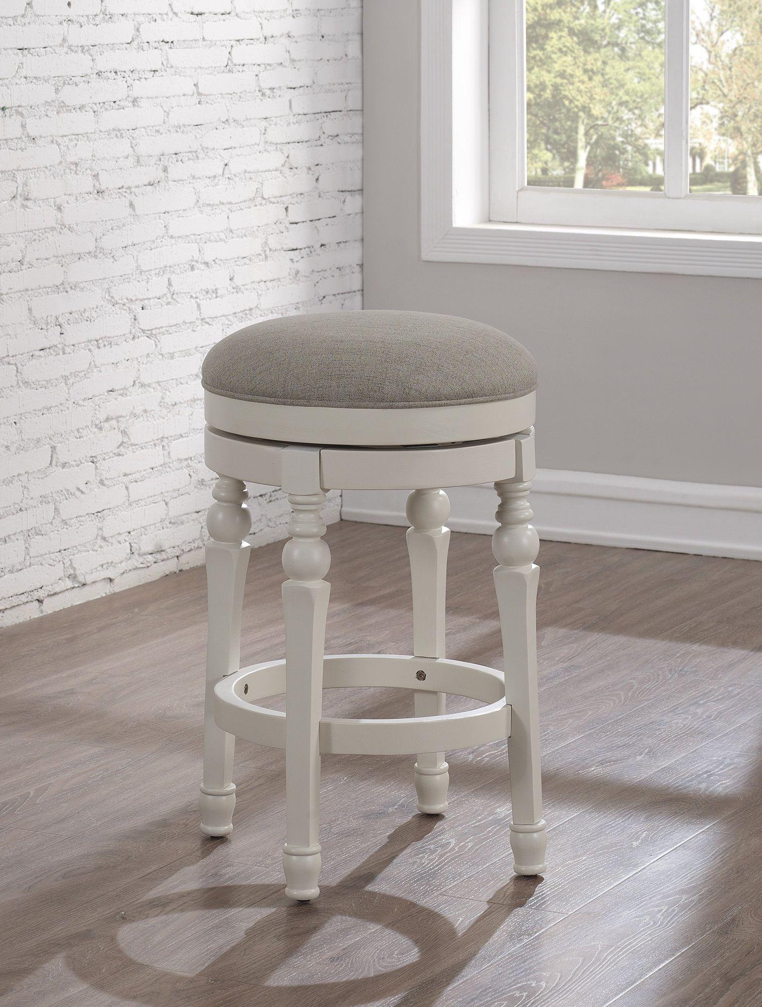 Caulders 26 swivel bar stool with cushion