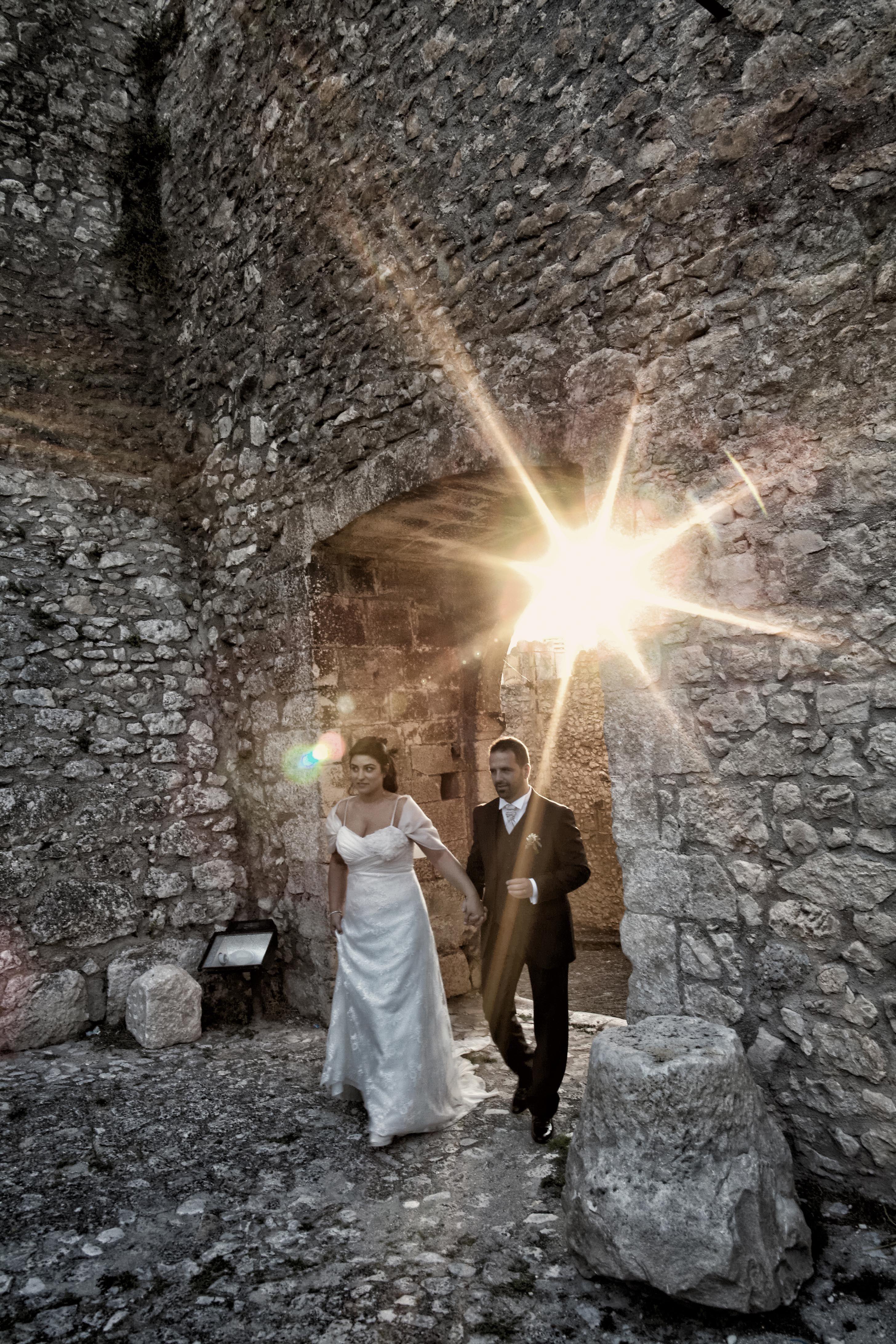 Caporciano Castle (L'Aquila) - Flare