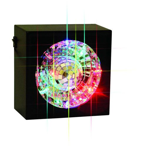 Ball Creative Square Will Rotating Mirror Your Motion Light Room RLc354Ajq