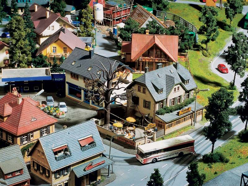 hamburg das kleine bad, bad klosterberg ist ein kleiner ort mit aufgelockerter bebauung, Design ideen