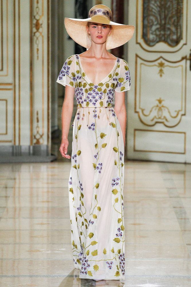 Luisa Beccaria Spring Summer 2016 - Preorder now on Moda Operandi