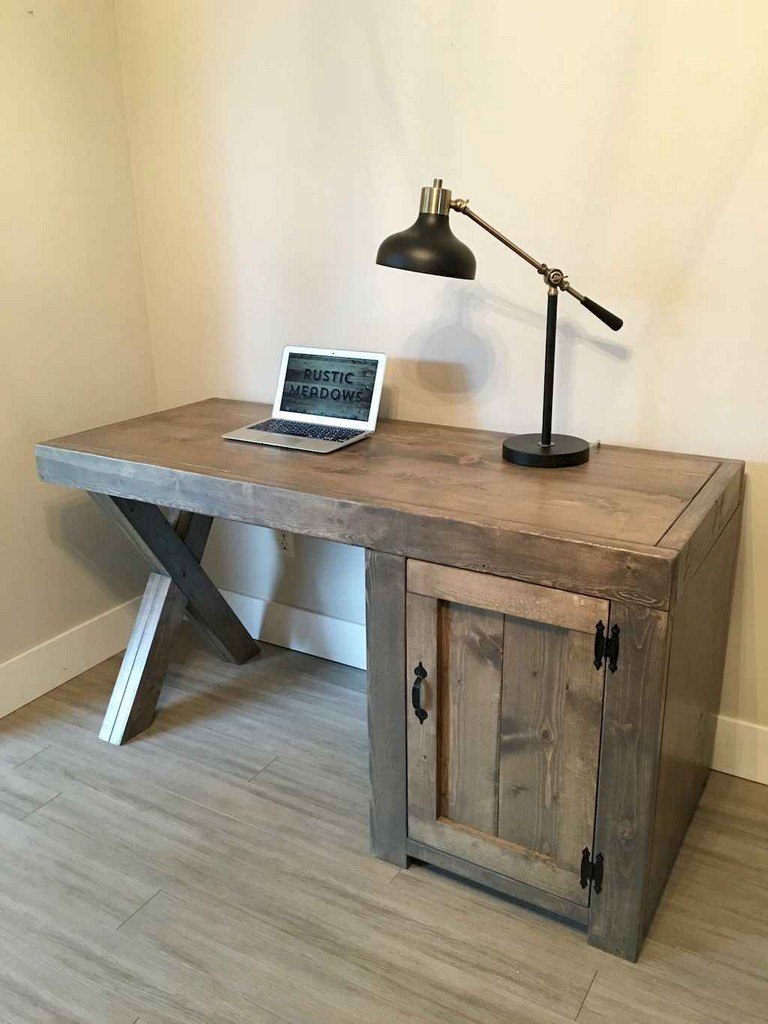 35 Simple DIY Farmhouse Desk Decor Ideas On A Budget
