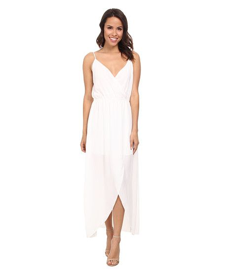 Brigitte Bailey Twist Top Tulip Maxi Dress White - Zappos.com Free Shipping BOTH Ways