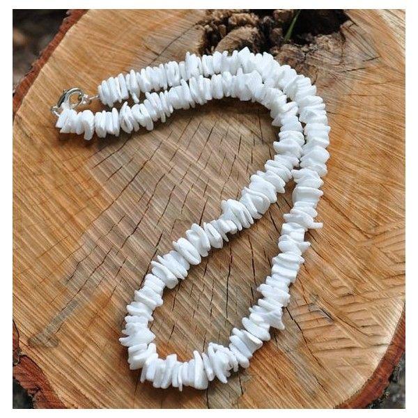 Puka Shell Necklace.Unisex Hawaiian Necklace.Beach Necklace Natural Puka Shell Necklace