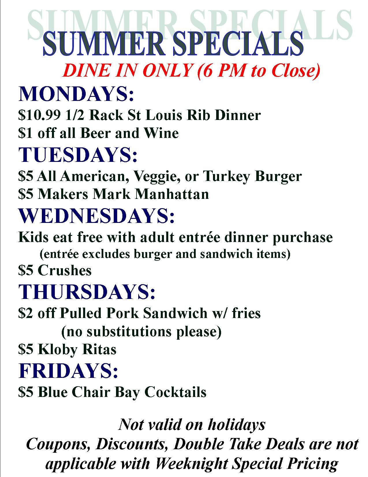 What items are available from Burger's Smokehouse?