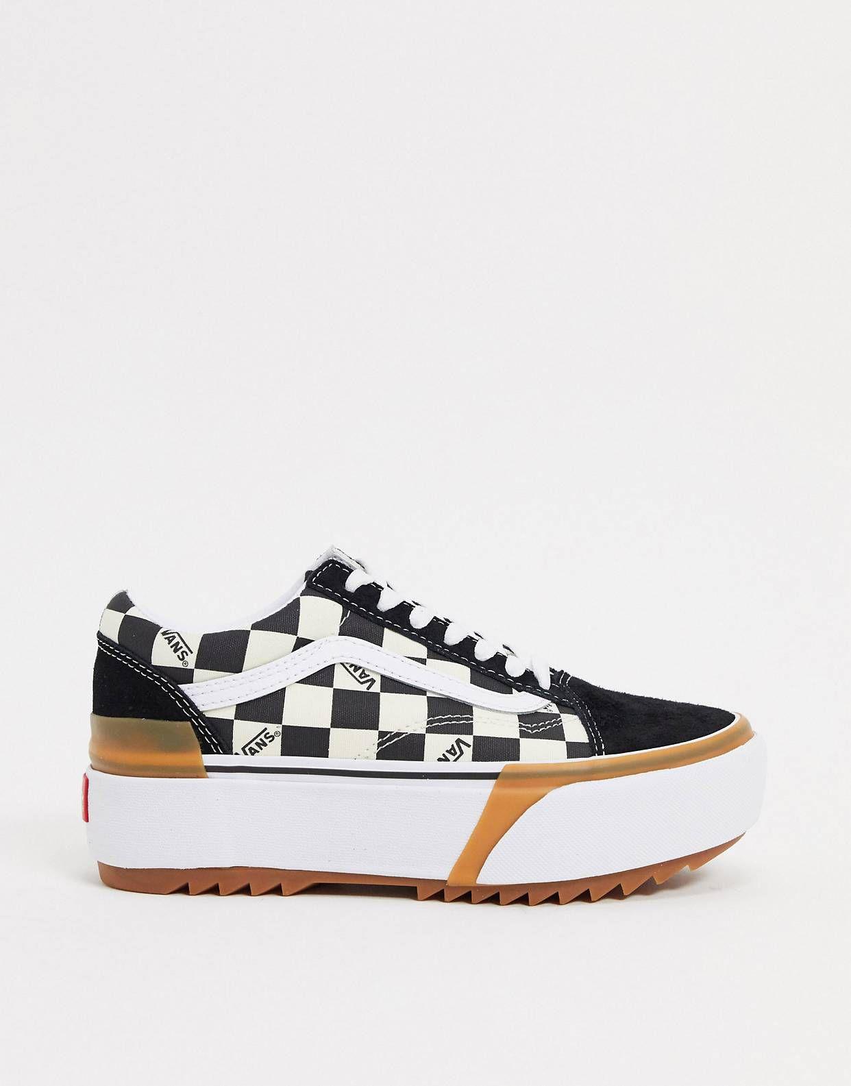 chaussures vans old skool stacked