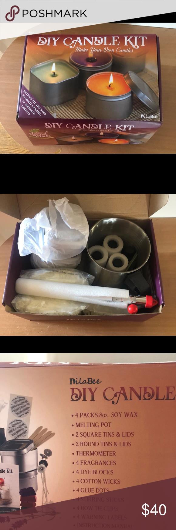 DIY CANDLE MAKING KIT Diy candles, Candle making kit