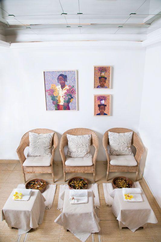 Sala de pedicura bienbrasil centro de estetica y for Decoracion de centro de estetica
