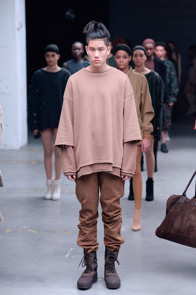 theasianmalemodel: \u201cSpencer Lee for Kanye West x Adidas Originals FW15 |  New York Fashion � Nude StyleYeezy Season 1Kanye ...