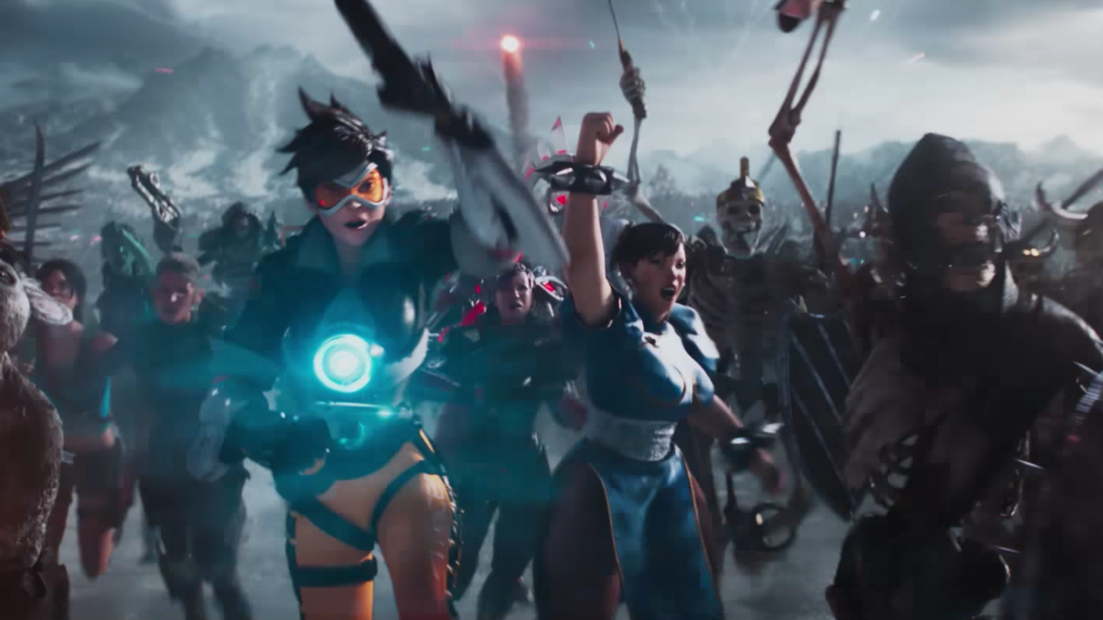 The New Ready Player One Trailer Is Filled With Video Game Anime And Comic Book Characters Ready Player One Ready Player Two Ready Player One Trailer
