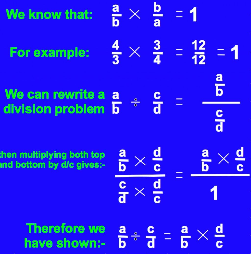 How To Divide Fractions In Five Easy Steps