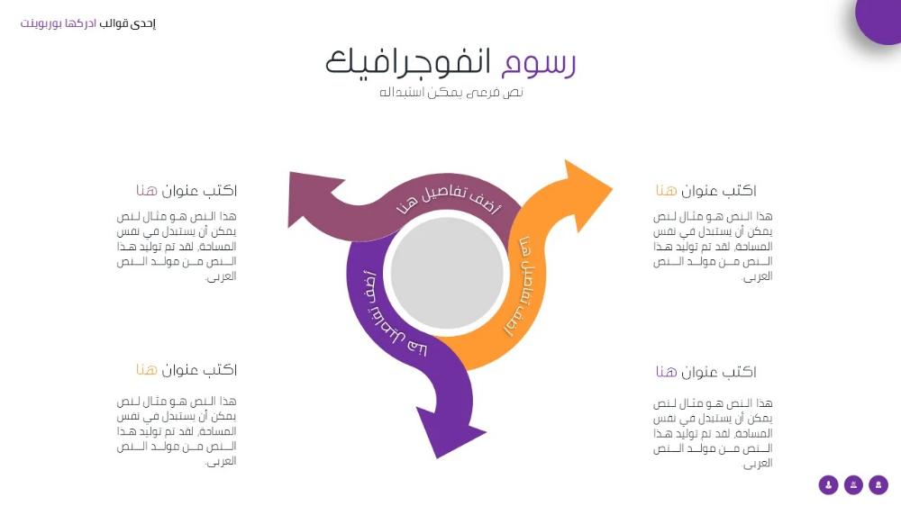 Pin By ادركها بوربوينت On انفوجرافيك بوربوينت Education Templates Business Powerpoint Templates Templates