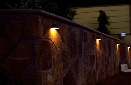 Pin By Sherry Scruggs On Pools Retaining Wall Lighting Concrete