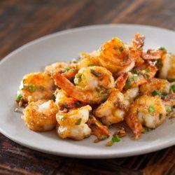 Garlic ginger shrimp stir fry authentic chinese recipe crevette garlic ginger shrimp stir fry authentic chinese recipe forumfinder Image collections