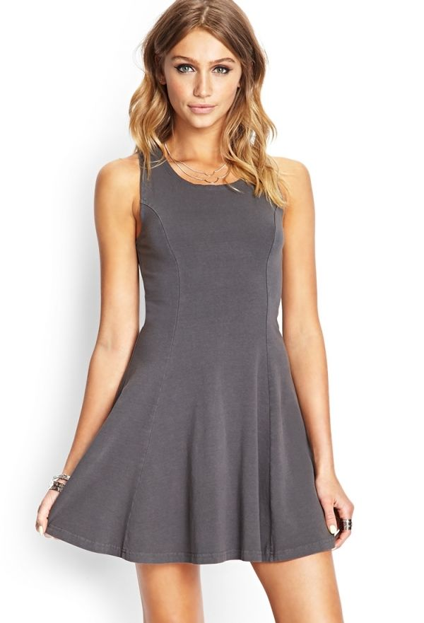 Sporty A-line dress
